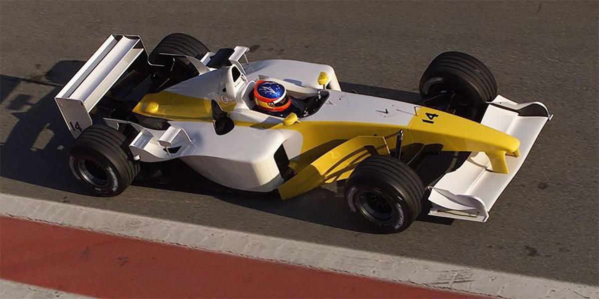 Renault-B201-Winter-Test-2002