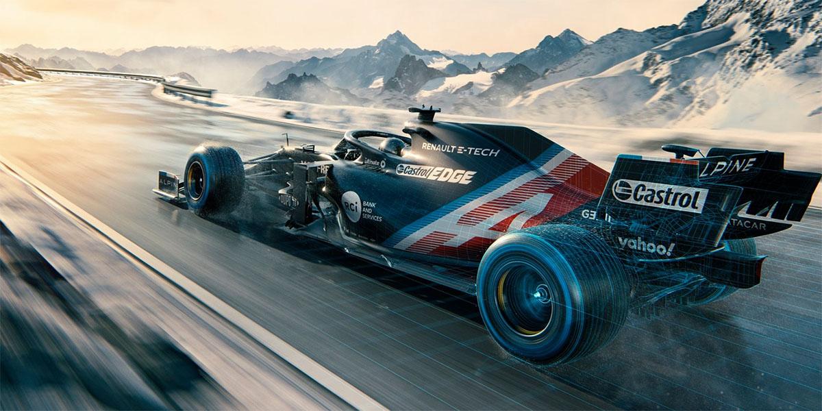 La-premiere-Formule-1-Alpine-Renault-A521-a-pousse-ses-premiers-cris